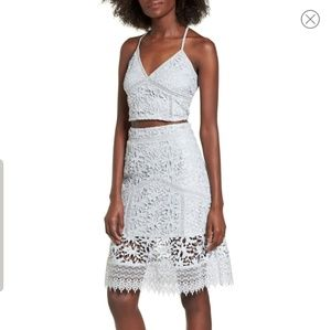 Leith Lace Top & Skirt